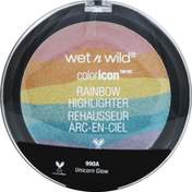 wet n wild Eyeshadow, Rainbow Highlighter, Unicorn Glow 990A