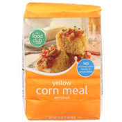 Food Club Enriched Yellow Corn Meal