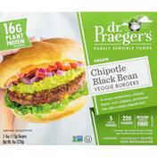 Dr. Praeger's Veggie Burgers, Chipotle Black Bean
