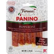 Fiorucci Panino, Gluten Free, Antipasti, Pepperoni
