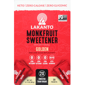 Lakanto Monkfruit Sweetener with Erythritol, Golden