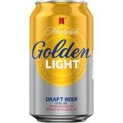 Michelob Golden Draft Light Beer Can