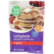 Food Club Original Complete Pancake & Waffle Mix