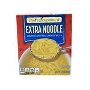 Chef's Cupboard Extra Noodle Soup Mix With Chicken Broth