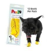 Pawz Dog Boots Yellow XXSM