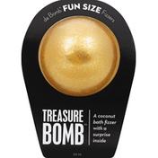 Da Bomb Bath Fizzer, Treasure Bomb, Fun Size
