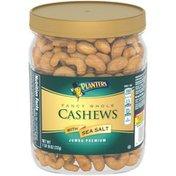 Planters Premium Quality Fancy Whole Jumbo Cashews with Sea Salt