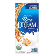 Rice DREAM Rice Drink, Organic, Classic, Original