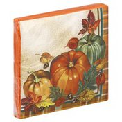 Creative Converting Napkins, Sunkissed Orange, 2 Ply