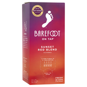 Barefoot On Tap Red Blend Red Wine Box Wine
