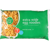 Food Club Egg Noodles, Extra Wide