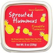 Macro Veg Pineapple Turmeric  Sprouted Hummus