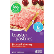Food Club Frosted Cherry Toaster Pastries