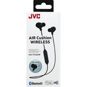 Jvc Wireless Headphones, Air Cushion, Black