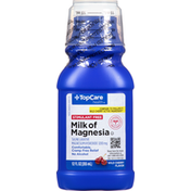 TopCare Milk of Magnesia, Wild Cherry Flavor