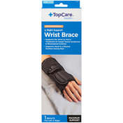 TopCare Antimicrobial Maximum Night Support Wrist Brace, One Size