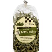 Al Dente Fettucine Noodles, Spinach