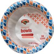 Hannaford 12 Oz. Designer Bowls