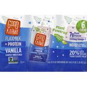 Good Karma Milk Alternative, Plant-Based, Vanilla. Lightly Sweetened