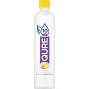 Qure Purified Water, Lemon Ginger, 10 pH