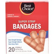Best Choice Strong Strip Bandages