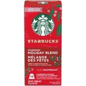 Starbucks Holiday Blend Ground Coffee Aluminum Capsules