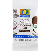 O Organics Virgin Coconut Oil, Organic, Unrefined, Travel Size