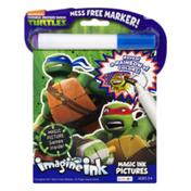 Bendon Imagine Ink Game Book Nickelodeon Teenage Mutant Ninja Turtles