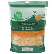 Food Club Pizza Style Two Cheese Blend Low-Moisture Part-Skim Mozzarella & Cheddar Finely Shredded Cheeses