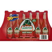 Jarritos Soda, Fruit Punch, 30 Pack