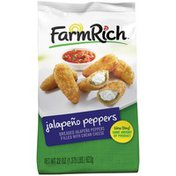 Farm Rich Breaded Filled with Cream Cheese Jalapeno Pepper