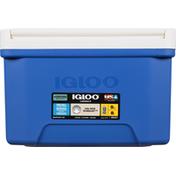 Igloo Cooler, Laguna, Blue/White, 9 Quarts