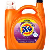 Tide Plus Febreze Freshness Spring and Renewal Scent Liquid Laundry Detergent, 150 oz, 78 loads  Laundry