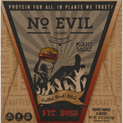 No Evil Foods Plant Meat, Pulled Pork BBQ, Pit Boss