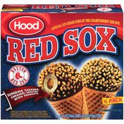 Hood Red Sox Caramel Center with Peanuts Sundae Cones