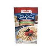 Meije 13.7 Ounce Instant Oatmeal Spice Variety Pack