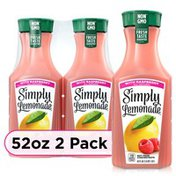 Simply Lemonade W/ Raspberry Bottles