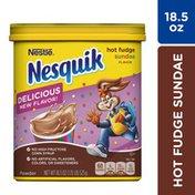 Nestle Nesquik Hot Fudge Sundae Powder Drink Mix