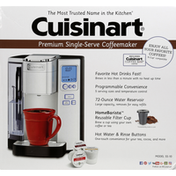 Cuisinart Coffemaker, Premium, Single-Serve
