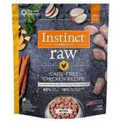 Instinct Raw Cage-Free Chicken Recipe Grain-Free Frozen Dog Food