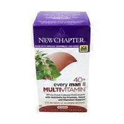 New Chapter 40+ Every Man Ii Multi Vitamin Dietary Supplement