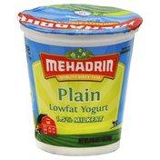 MEHADRIN Yogurt, Lowfat, Plain