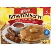 Banquet Brown N Serve Pancake Breakfast