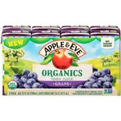 Apple & Eve Grape Flavored Blend Of 2 Organic 100% Juices From Concentrate