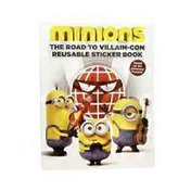 Little Brown & Company Minions The Road to Villain-Con Reusable Sticker Book