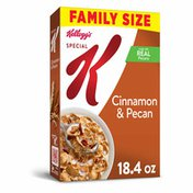 Kellogg's Special K Breakfast Cereal, 11 Vitamins and Minerals, Cinnamon and Pecan