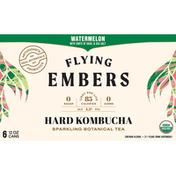 Flying Embers Hard Kombucha, Watermelon