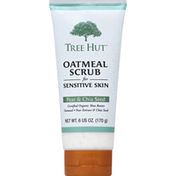 Tree Hut Oatmeal Scrub, for Sensitive Skin, Pear & Chia Seed