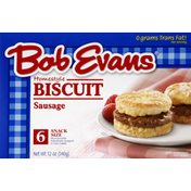 Bob Evans Farms Biscuit, Homestyle, Sausage, Snack Size