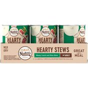 NUTRO Hearty Stews Meaty Lamb & Rice Stew Adult Natural Dog Food